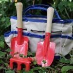 I gave my children their own garden tools
