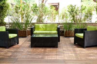 Comfortable and Sylish Patio Furniture. Image courtesy of photostock / FreeDigitalPhotos.net