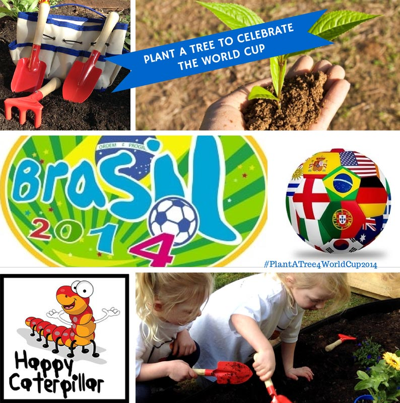 Plant a tree/flowers to celebrate the World Cup