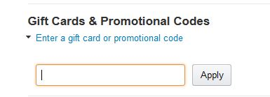Add your coupon code here on Amazon payment page